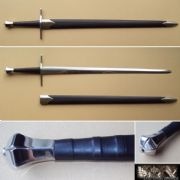 Hand-and-a-Half Bastard Sword  & Scabbard